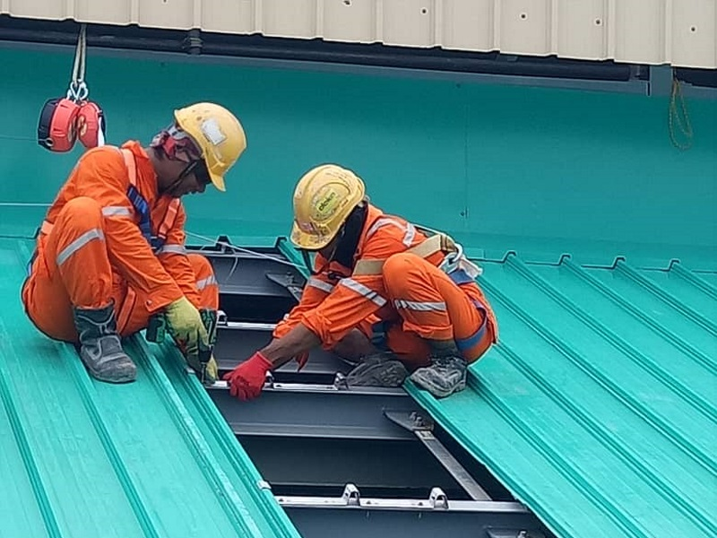 Roofing and Cladding Works