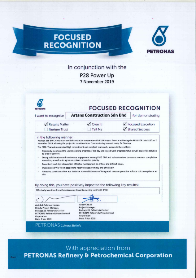 Petronas Refinery & Petrochemical Corporation